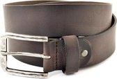 XXL Belts XXL belts Heren Broekriem Zwart 125 cm