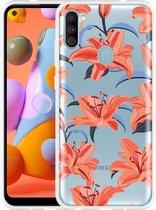 Samsung Galaxy A11 Hoesje Flowers