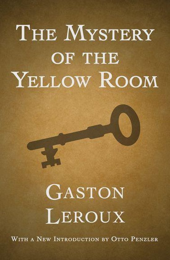Omslag van The Mystery of the Yellow Room