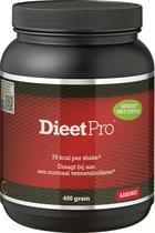 Dieet Pro - Eiwitshake - Voedingssupplementen - Aardbei Stevia - 400 gr