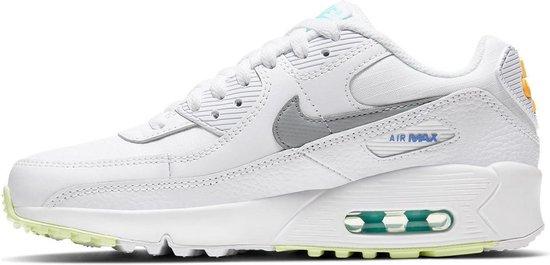 Nike Sneakers - Maat 40 - Unisex - wit/zilver/oranje