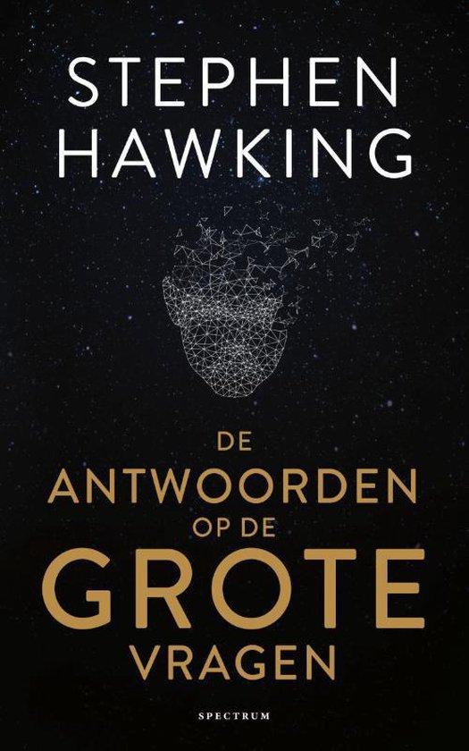 Boek cover De antwoorden op de grote vragen van Stephen Hawking (Paperback)