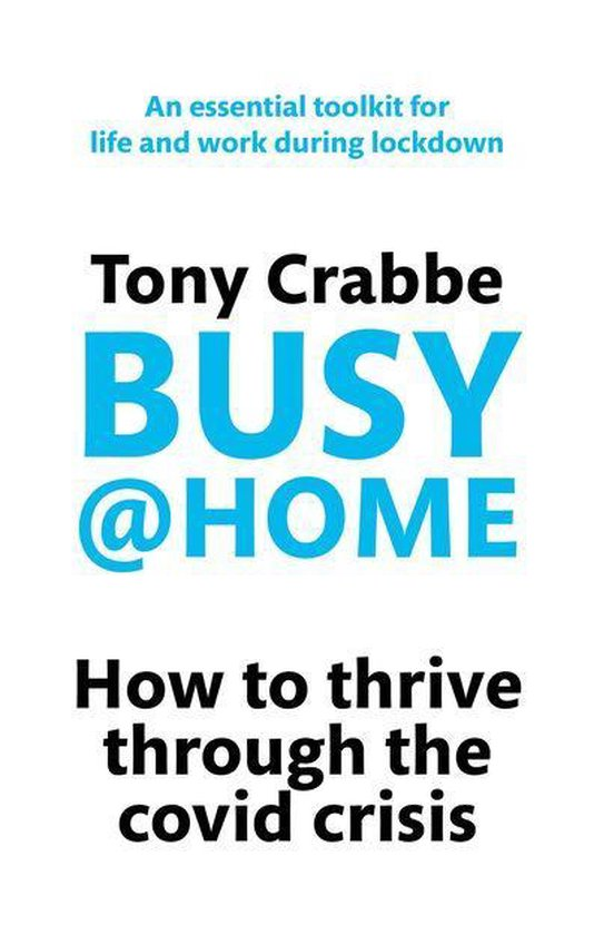 Boek cover Busy@Home van Tony Crabbe (Onbekend)