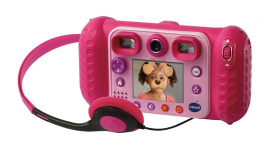 VTech KidiZoom Duo DX Roze - Kindercamera