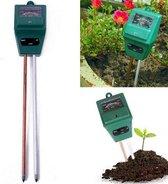 Bodemvochtigheid PH en Lichtmeter 3-in-1 / Meet de bodemkwaliteit voor bloemen en planten / Vochtmeter