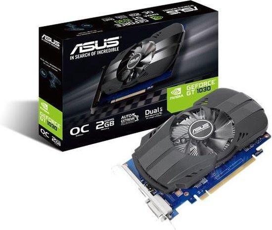 ASUS PH-GT1030-O2G NVIDIA GeForce GT 1030 2 GB GDDR5 - ASUS