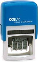 Colop Printer S220/D Zwart | Datumstempel bestellen | Stempel met draaibare datum | Bestel nu!