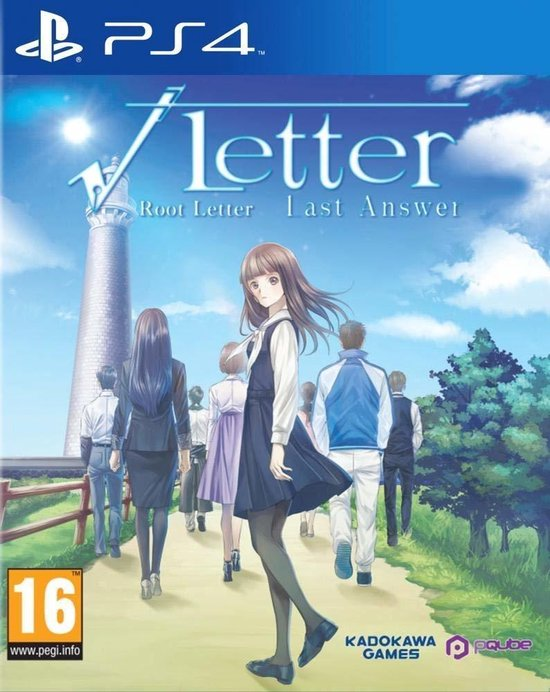 PQube Root Letter: Last Answer - Day One Edition video-game PlayStation 4 Engels