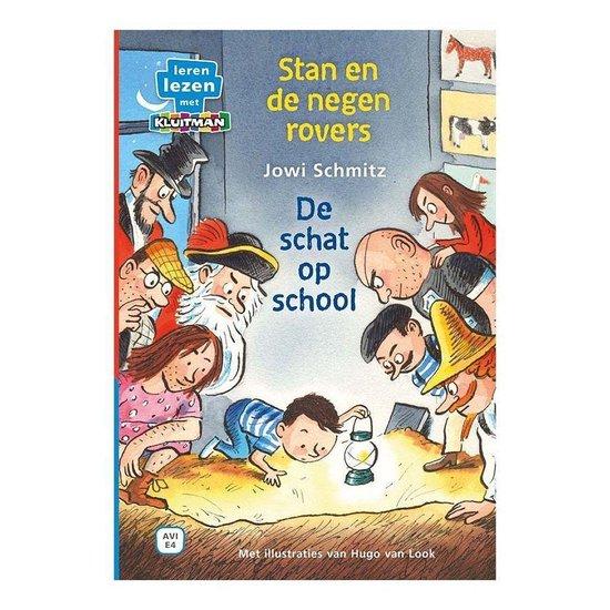 Stan en de negen rovers  -   De schat op school