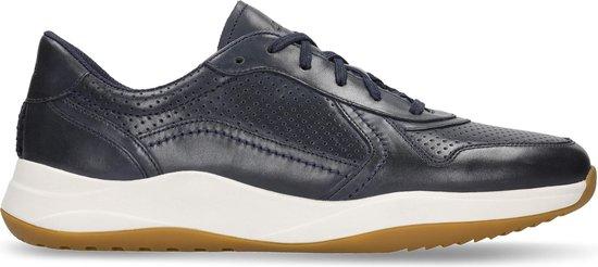 Clarks - Herenschoenen - Sift Speed - G - navy leather - maat 8,5