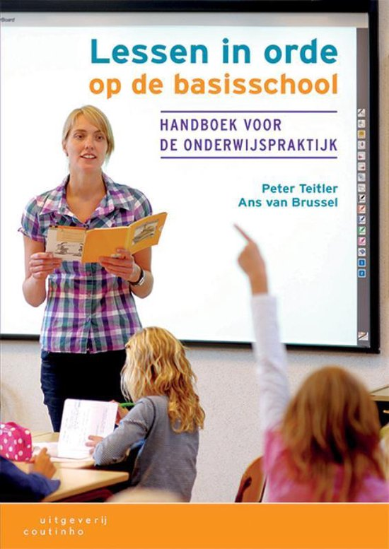 Boek cover Lessen in orde op de basisschool van Peter Teitler (Paperback)