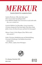 MERKUR Deutsche Zeitschrift für europäisches Denken - 2016-11