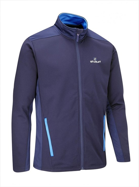 Endurance Full Zip Fleece Heren Golf Trui - Midnight Blauw