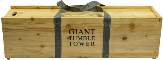 Thumbnail van een extra afbeelding van het spel Stapeltoren Crib - tot 150 cm hoog - Luxe Kist India's Pine-hout