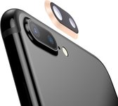 Let op type!! Rear Camera Lens Ring for iPhone 8 Plus (Gold)