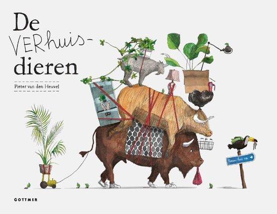 bol.com | De Verhuisdieren, Pieter van den Heuvel | 9789025772055 ...