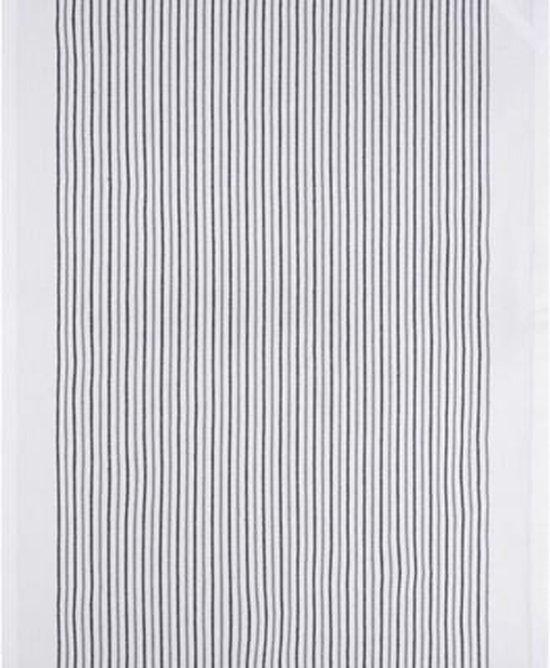 Clarysse Voordeel Theedoeken Timeless Gestreept Grijs 50x70cm 6 stuks