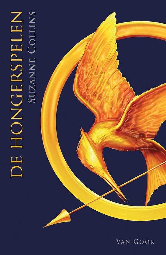 Boek cover De Hongerspelen 1 -   De hongerspelen van Suzanne Collins (Paperback)