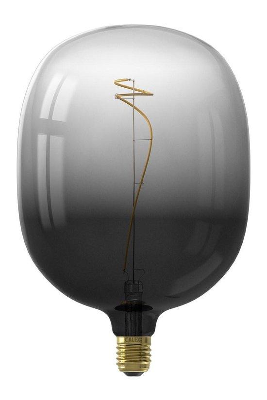 Calex Colors Avesta - Zwart - led lamp - Ø170mm - Dimbaar