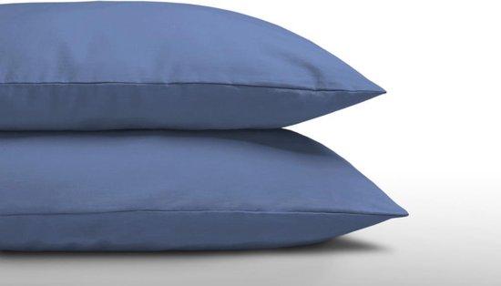 Dreamhouse - Kussenslopen (2 in 1 Set) - Katoen - 60x70 cm - Blauw