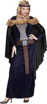 Koning Prins & Adel Kostuum | Middeleeuwse Prinses Passahara | Vrouw | Large | Carnaval kostuum | Verkleedkleding