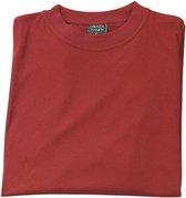 Big Size T-shirt katoen rood, maat M