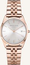 Rosefield The Ace Dames Horloge - Rosé Goud Ø33mm - ACSR-A14