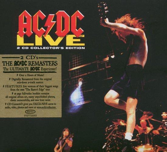 CD cover van Live 92 van AC/DC