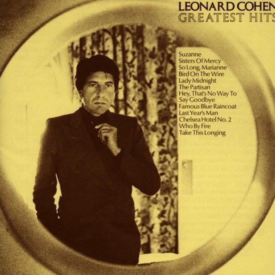 CD cover van Greatest Hits van Leonard Cohen