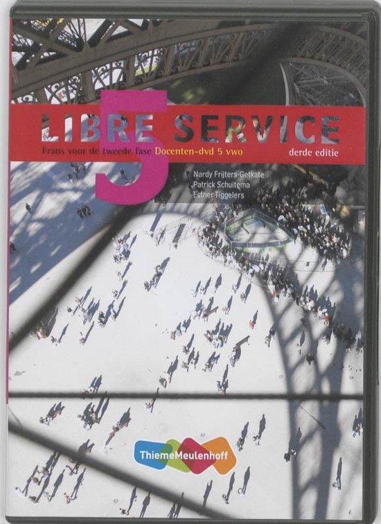 Libre service 5 VWO Docenten- DVD - Nardy Frijters- Getkate |