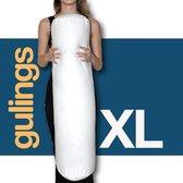 Rolkussen - Guling XL - met sloop - donkerblauw