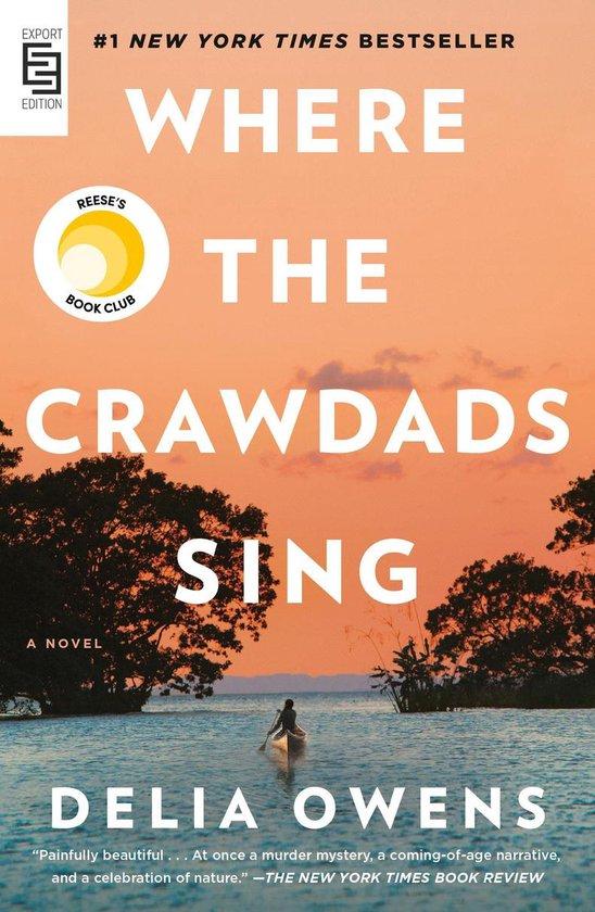Boek cover Where the Crawdads Sing van Delia Owens (Paperback)