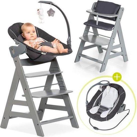 Product: Hauck Alpha Plus Kinderstoel - Newborn Set Deluxe - Grijs, van het merk Hauck