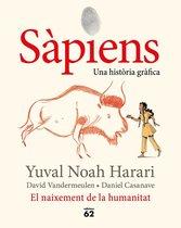 Omslag Sàpiens. El naixement de la humanitat