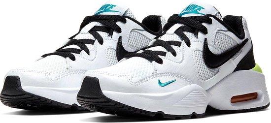 Nike De Nike Air Max F Sneakers - Maat 36.5 - Unisex - wit,zwart,blauw,geel