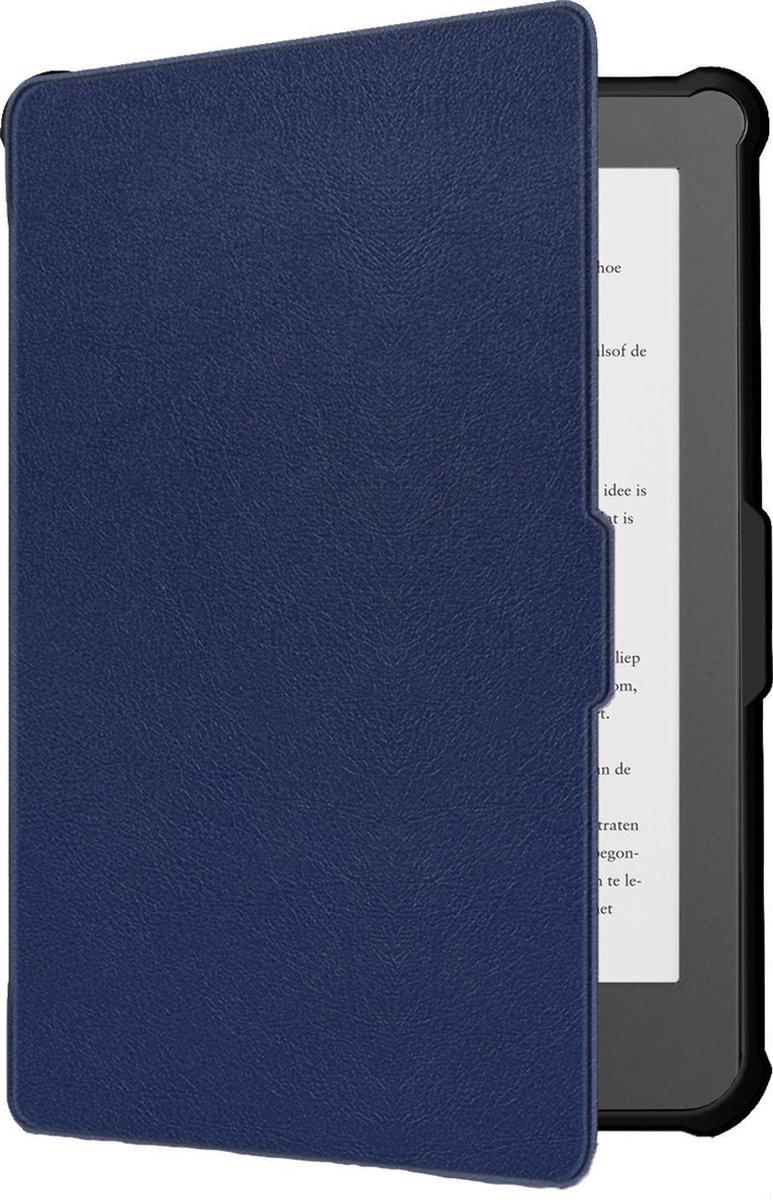 Kobo Clara HD Hoesje Case Sleep Cover Premium Hoes - Donker Blauw