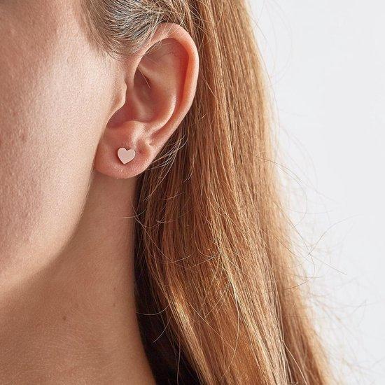Zinzi Silver Jewels Oorbellen  - Roségoudkleurig