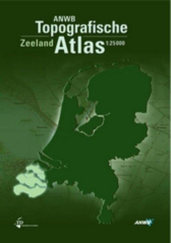 Boek cover ANWB Topografische Atlas Zeeland van Onbekend (Hardcover)