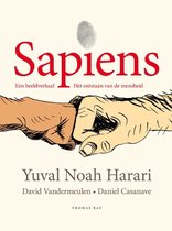 Omslag Sapiens (graphic novel)