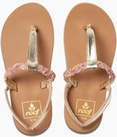 Reef Slippers Kinderen Little Twisted T Tan - Pink - 20
