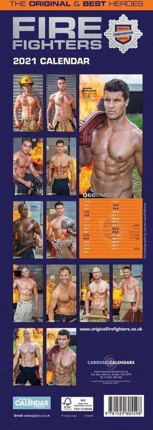Fire Fighters Kalender 2021 Slimline