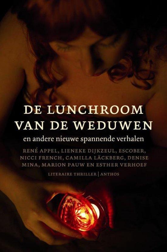 Cover van het boek 'De lunchroom van de weduwen en andere nieuwe spannende verhalen'