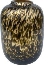 Artic small gold Cheetah ø21xH29cm