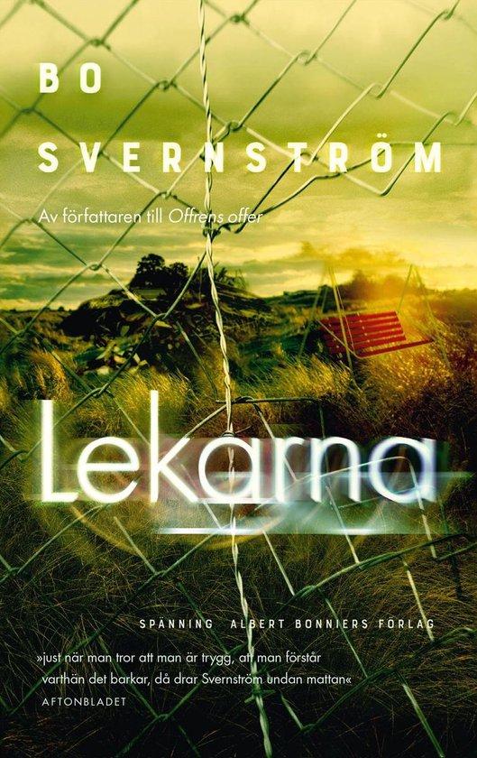 Boek cover Lekarna van Bo Svernström (Onbekend)