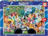 Educa - De wondere wereld van Disney II - 1000 stukjes