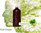 VolcanicEarth Foot Cream Peppermint - 1 Liter [ luxe wellness voetencreme voor geirriteerde voeten ]