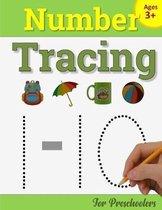 Number Tracing Book for Preschoolers: Number Writing Practice Book for Pre K and Kindergarten: Number Tracing Books for kids ages 3-5, Preschoolers Vo