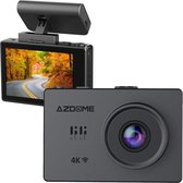 AZDome M10 Pro 4K Touch dashcam voor auto - Wifi - GPS - Auto parkeerstand
