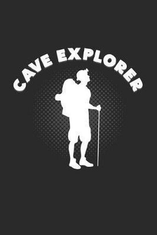 Cave explorer: 6x9 Caving - dotgrid - dot grid paper - notebook - notes