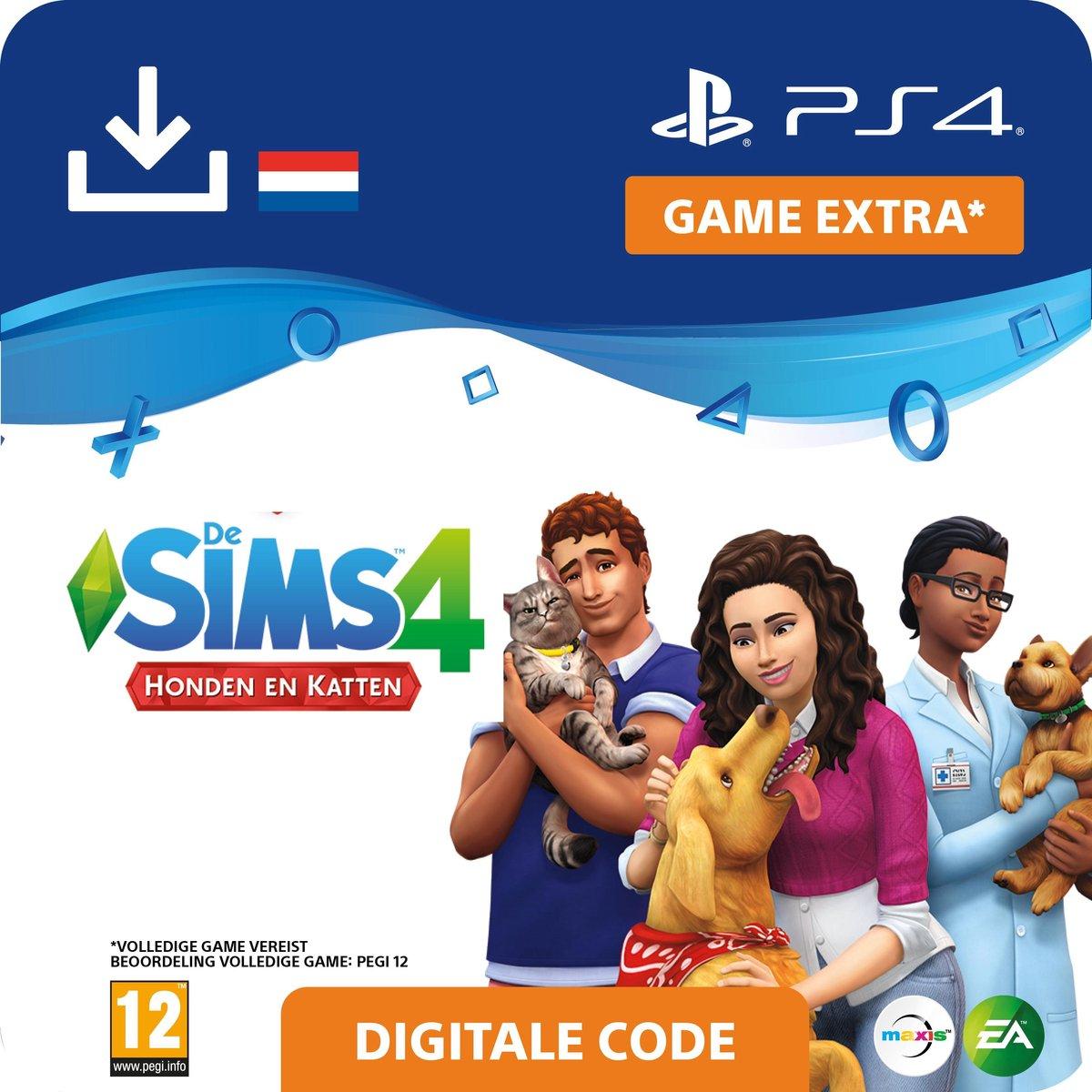 De Sims 4 - uitbreidingsset - Honden en Katten - NL - PS4 download